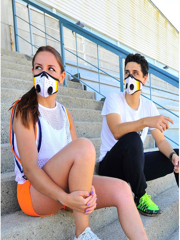 Innovación con la máscara de deporte