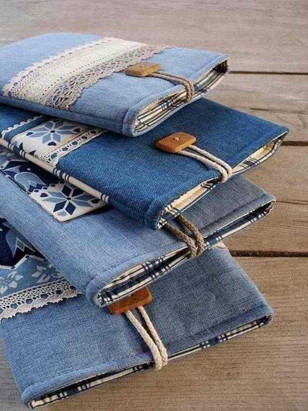 Moda 'sostenible' con tejido reciclado de vaqueros