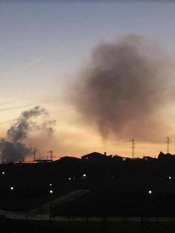 Por 5º día Gijón sigue con el aire muy contaminado