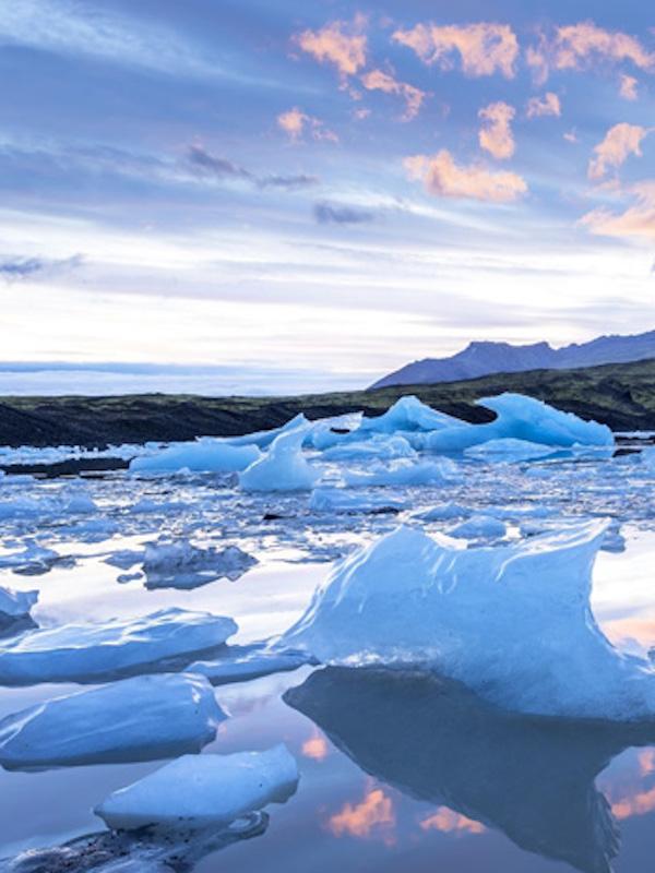 Los sumideros de deshielo en Groenlandia, mayores de lo esperado