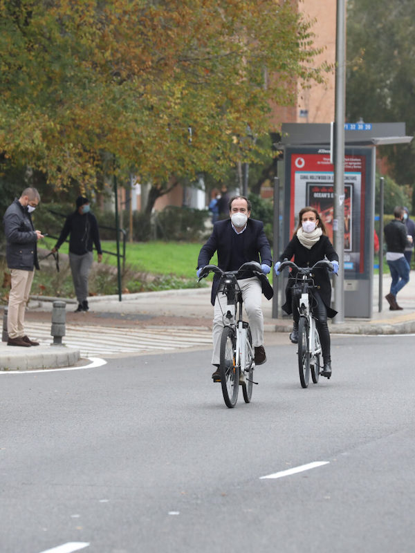 Madrid. Cuatro nuevas estaciones de BiciMAD en Moratalaz