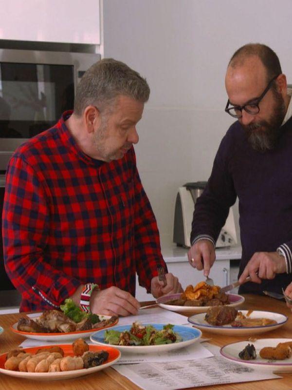 Alimentos ecológicos. Al conocido cocinero Alberto Chicote se le 'indigestan' los productos BIO
