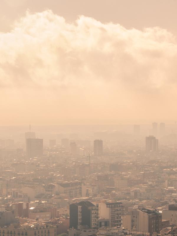 CO2. El COVID-19 no reduce la contaminación atmosférica