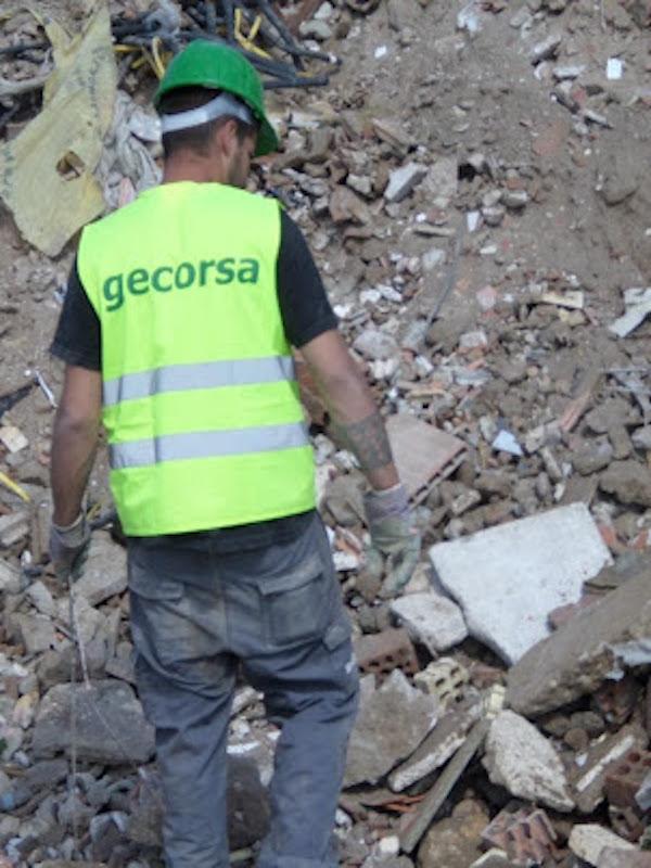 Economía circular. GECORSA: los escombros son el mayor exponente de la economía circular