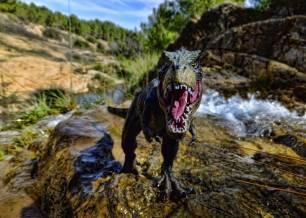 Naturaleza. El Tiranosaurio Rex daba un estirón de adolescente