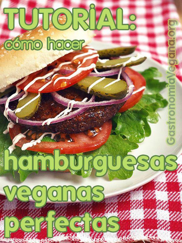 Receta Ecológica recomendada por ECOticias.com: 'Tremendas' hamburguesas veganas