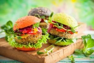 'Tremendas' hamburguesas veganas
