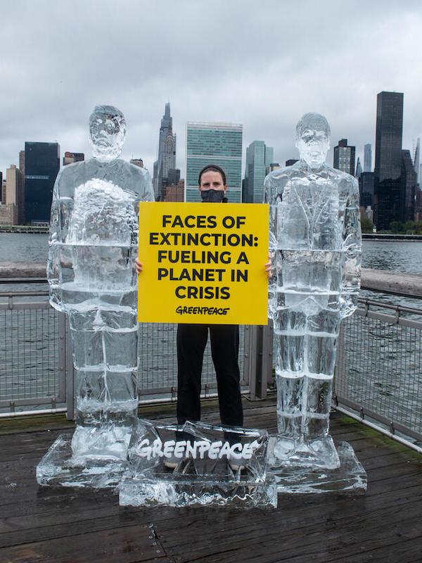 Derretimos a Trump y Bolsonaro, líderes del negacionismo ambiental, para denunciar su inacción