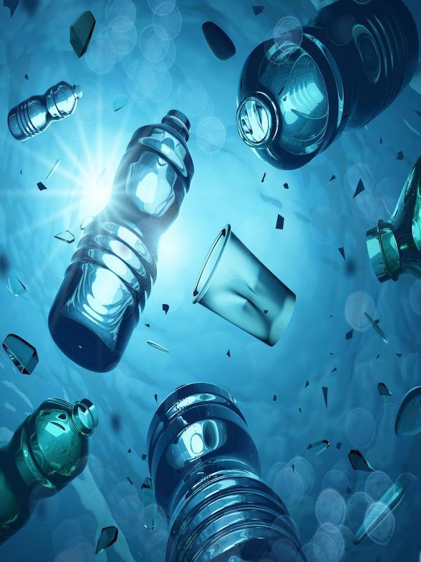 El fondo marino, sumidero de 14 millones de toneladas de plástico