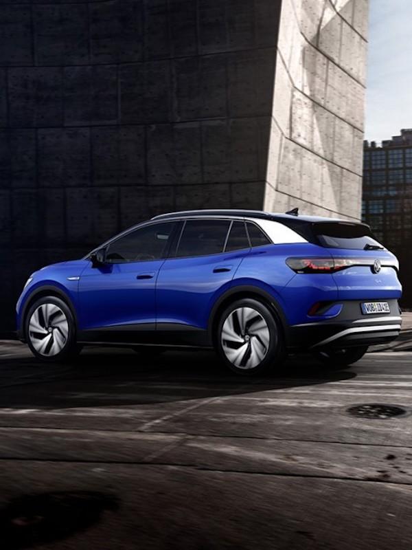 Volkswagen 'lo da todo' con el nuevo ID.4, su primer todocamino eléctrico