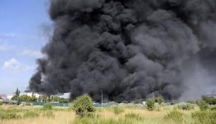 Concluye la retirada de 8.000 toneladas de residuos tóxicos generados en el incendio en la planta de Chiloeches