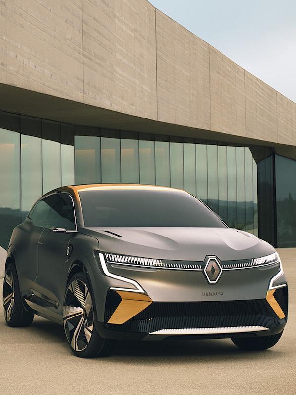 Renault comercializará su eléctrico Mégane eVision en 2021
