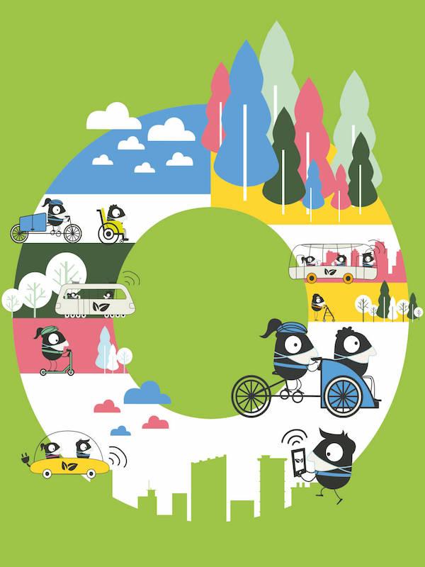 Pamplona a medio camino de la movilidad sostenible