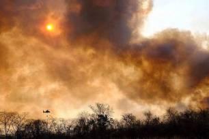 Brasil, Paraguay y Bolivia en llamas: el Pantanal bate su propio récord de incendios