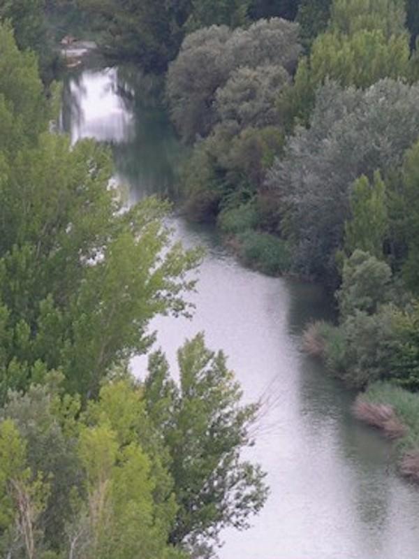 El río Guadalope está en buen estado ecológico de la masa de agua