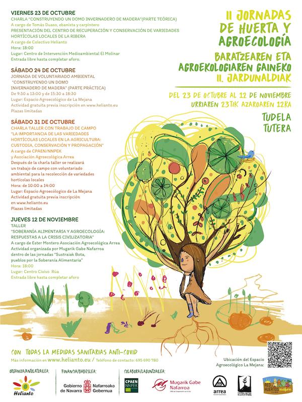 II Jornadas de Huerta y Agroecología en Tudela