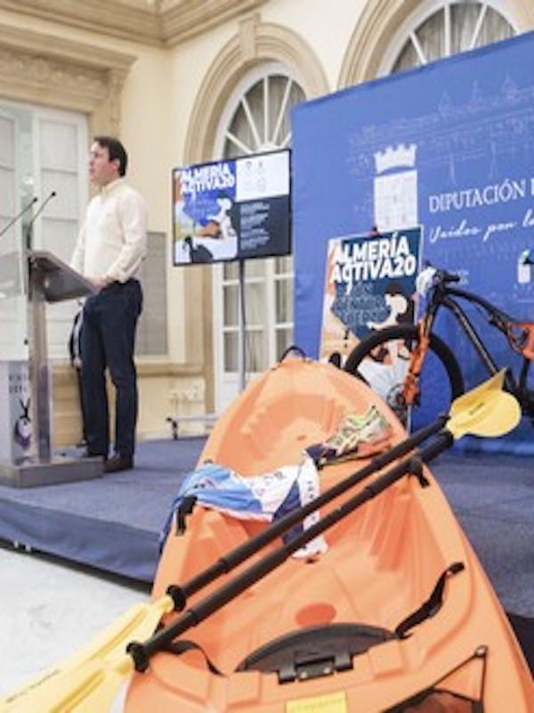 El programa 'Almería Activa' apuesta por el turismo deportivo