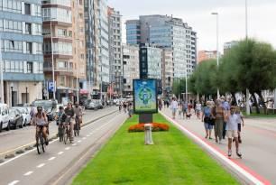 Gijón. Aprobada la Ordenanza de Movilidad Sostenible