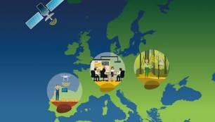 Europa se interesa por proyectos sobre observación ambiental en los que interviene el CREAF
