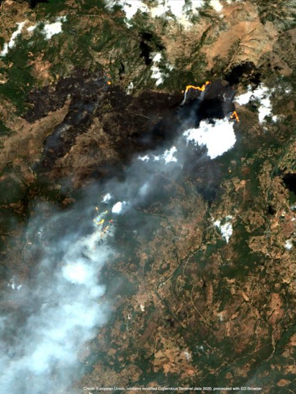 Incendios, España 'arde'