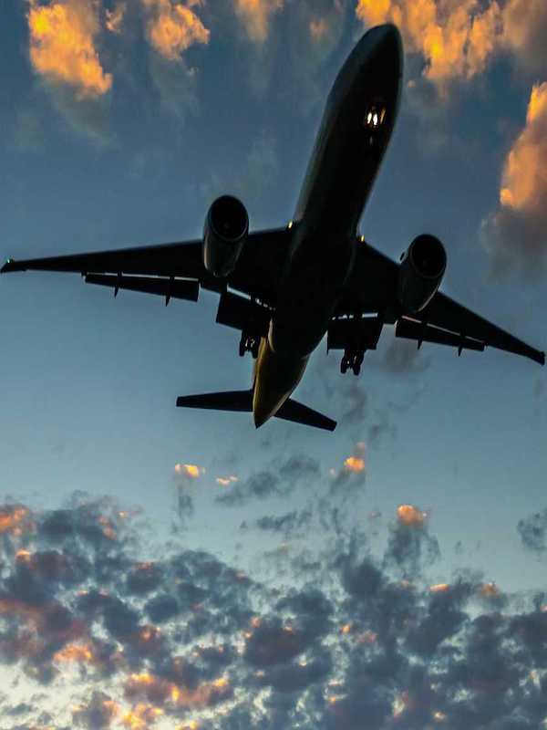 Los aviones agravan la crisis climática