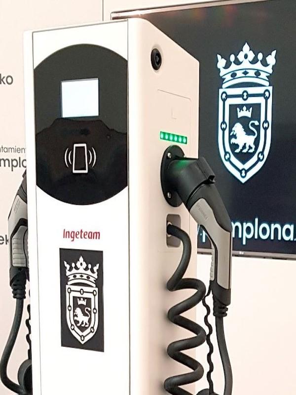 Pamplona contará con 26 nuevas tomas de recarga para vehículos eléctricos