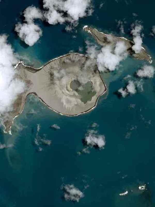 Islas surgidas en el sudeste de Asia provocaron la Groenlandia helada