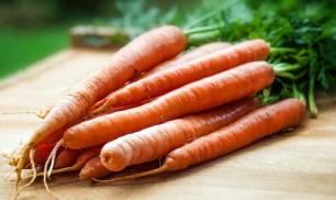 Ojito con las zanahorias y la alergia