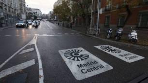 La entrada de coches C sería tanto como 'fulminar' Madrid Central