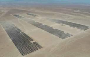 Grenergy conecta en Chile el parque solar de Quillagua, su mayor proyecto con una potencia de 103 MW