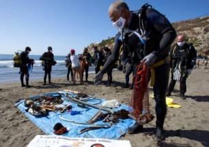La Red de Vigilantes Marinos retira del río Júcar y del Guadiela 1.200 kilos de basura