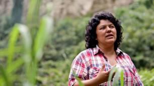 La activista Berta Cáceres candidata al Premio Sajarov