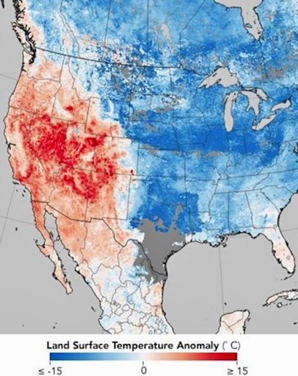 La crisis climática se hace 'evidente' en los datos meteorológicos diarios