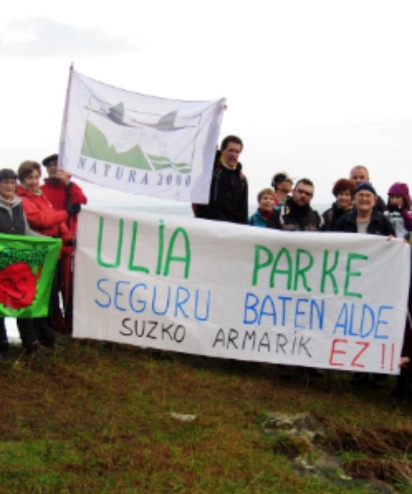 Eguzki se felicita de que el Parlamento Vasco haya blindado hoy la prohibición de la caza en Ulia