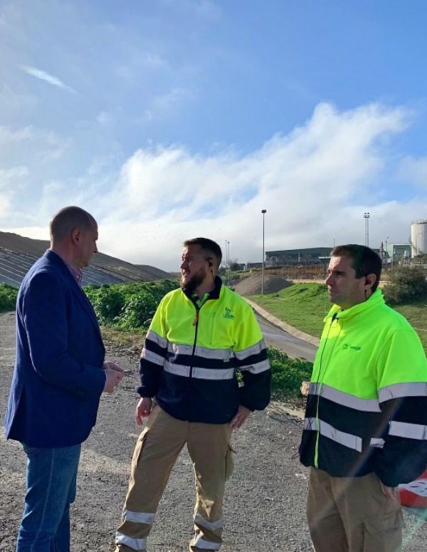 Jaén. Obras en un vertedero para producir biogás