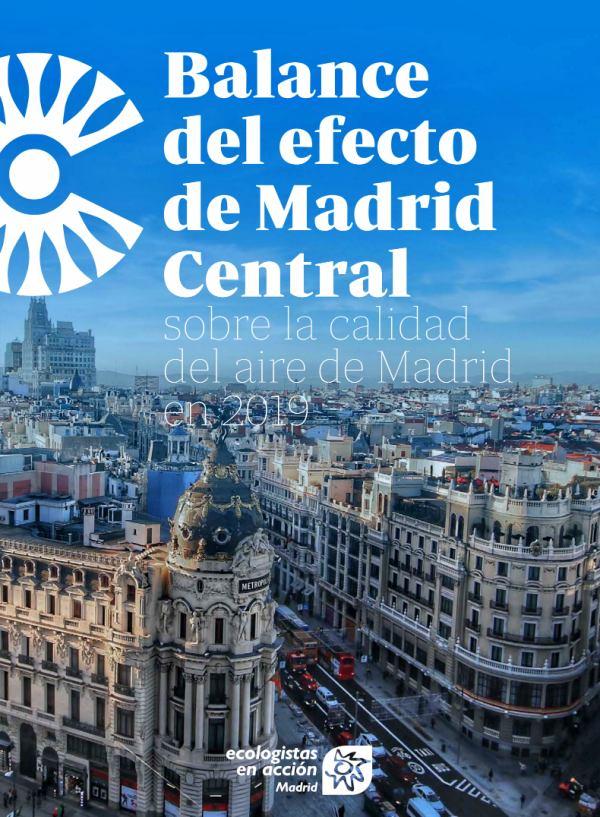 El informe 'definitivo' de 'Madrid Central'