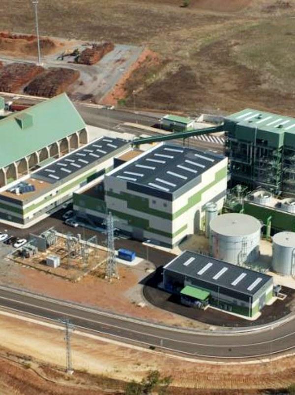 Puertollano. Ence planea la construcción de una segunda planta de biomasa