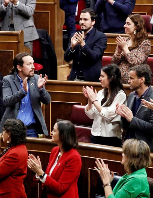 El peso de la 'Agenda 2030' sobre los hombros del debutante Pablo Iglesias