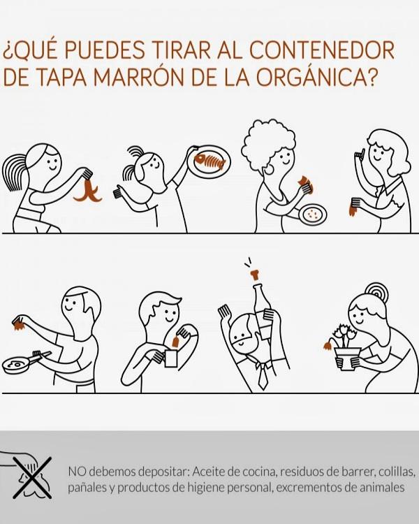 Recogida orgánica en los distritos madrileños de Barajas, Retiro, Usera, Salamanca, Carabanchel, Moratalaz, Chamartín y Fuencarral-El Pardo