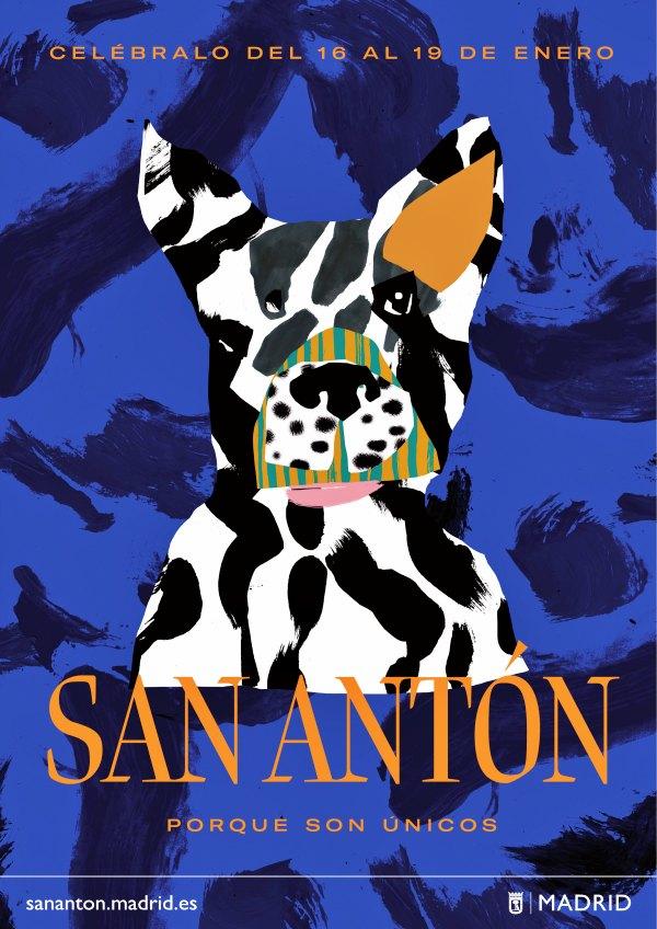 Madrid conciencia a la ciudadanía de los cuidados que requieren los animales que viven en la ciudad con motivo de San Antón