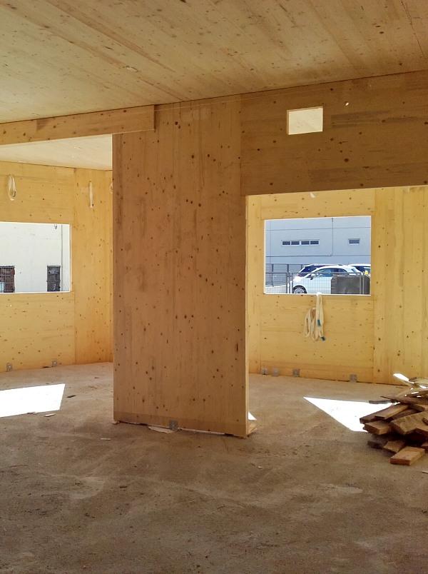 Madrid. Edificios en madera, construcción sostenible contra el cambio climático