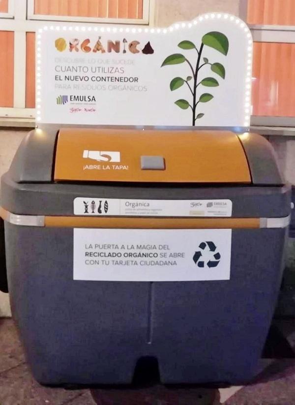 Oviedo implementará quinientos contenedores en el centro de la ciudad para recoger restos orgánicos