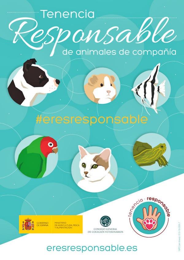 El Colegio de Veterinarios de Asturias se suma a la campaña sobre tenencia responsable de Mascotas