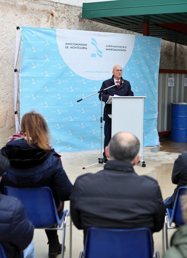 Navarra financia con 92.000 euros el nuevo punto limpio de Sartaguda