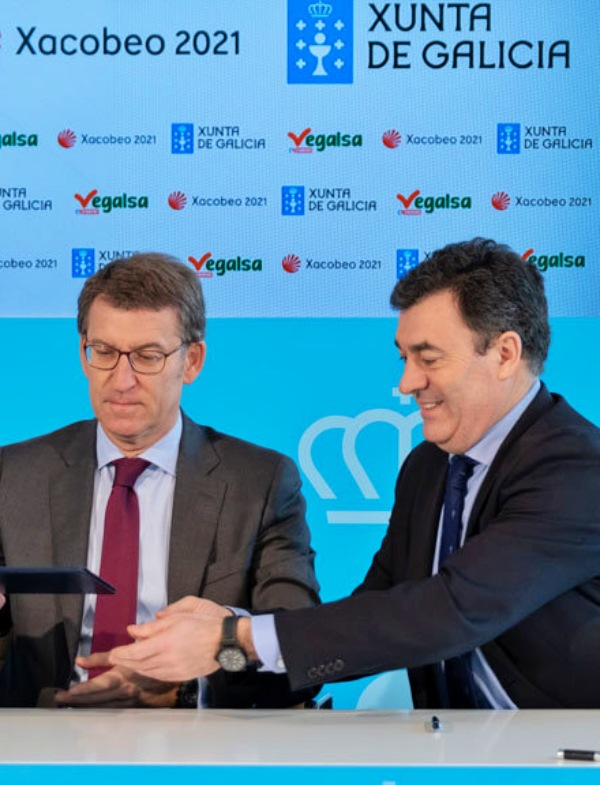 Impulsando las rutas jacobeas asturianas con el programa 'Xacobéu 2021'