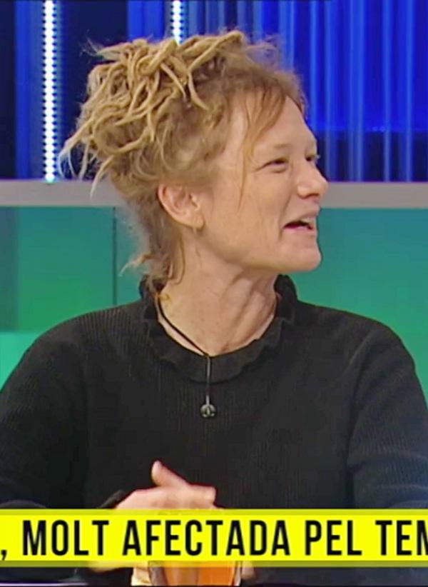 Annelies Broekman habla en TV3 sobre la relación de la crisis climática y el temporal Gloria
