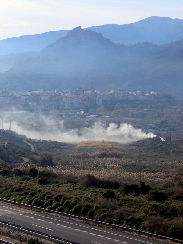 Asociaciones de conservación de la naturaleza piden controlar las quemas en el Canal de Castilla