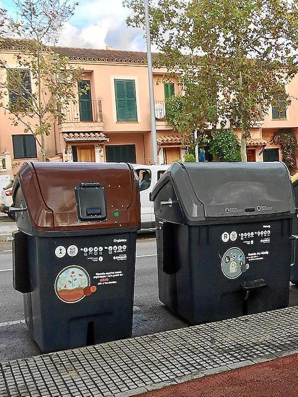 Cort inicia la instalación masiva de contenedores de recogida de materia orgánica en Palma