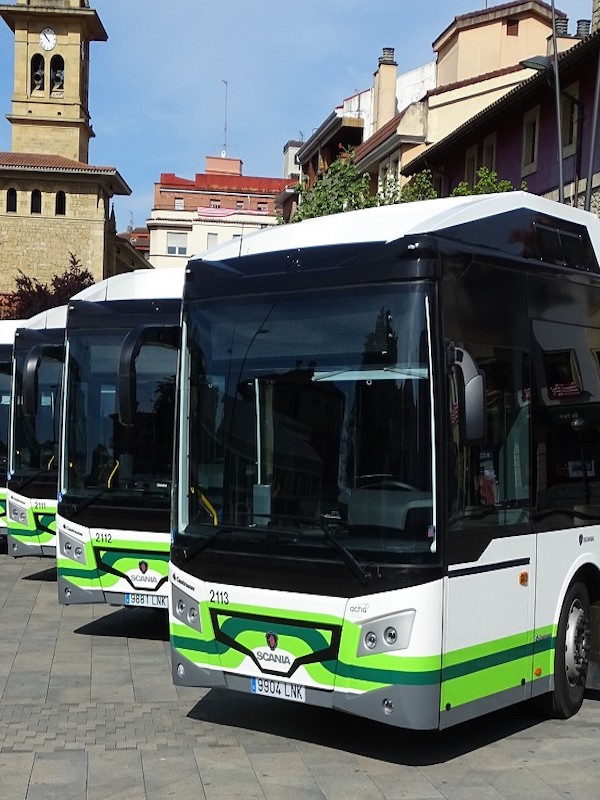 Bizkaibus incorpora seis autobuses híbridos a las líneas del Txorierri y sumará cinco más a lo largo del 2021