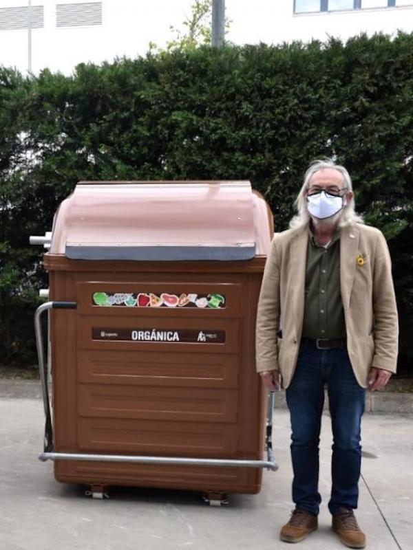 Logroño comienza el 26 de abril la recogida selectiva de residuos orgánicos en cinco barrios